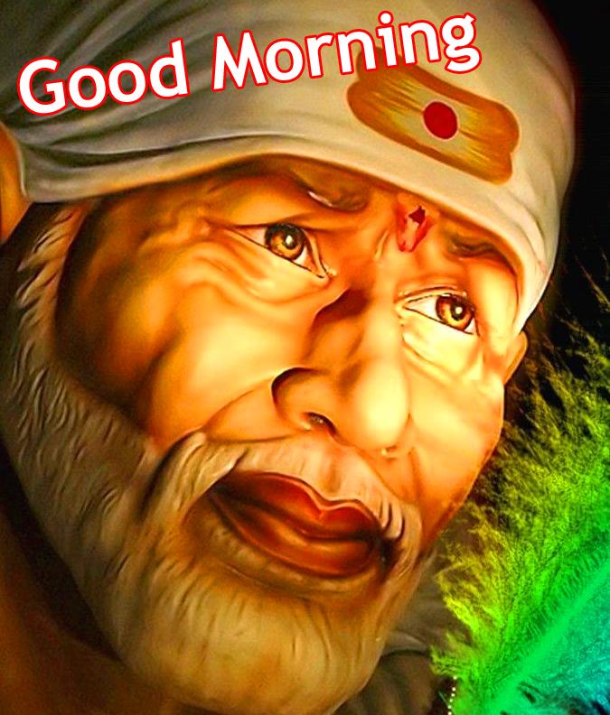 Good-Morning-Sai-Baba-Beautiful-Picture