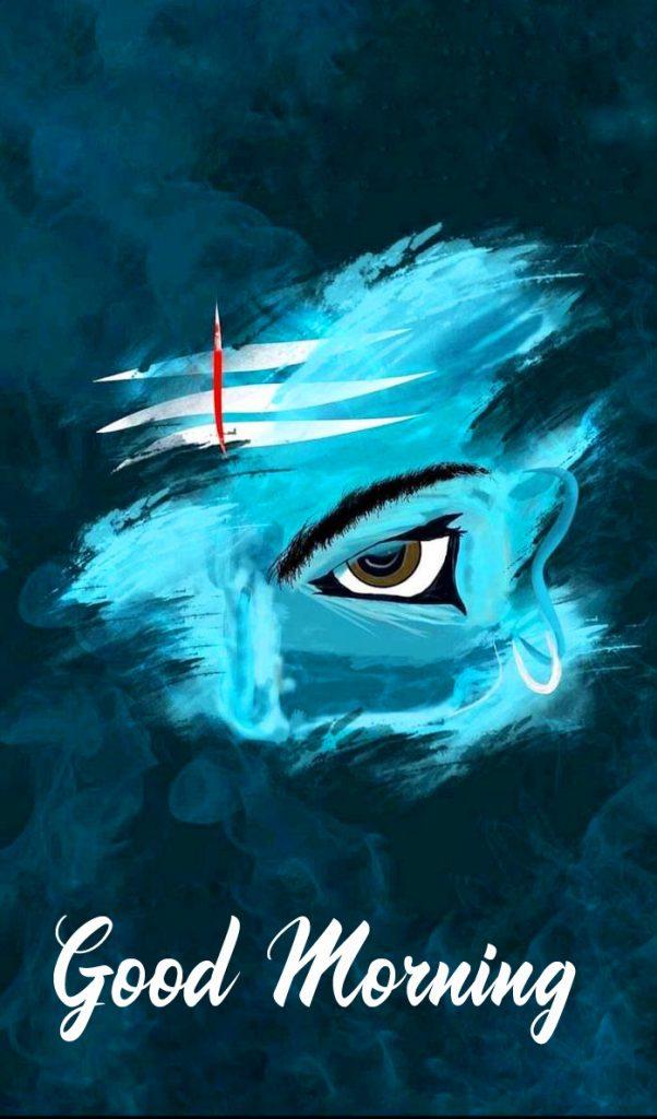 Abstract Mahadev Good Morning Image