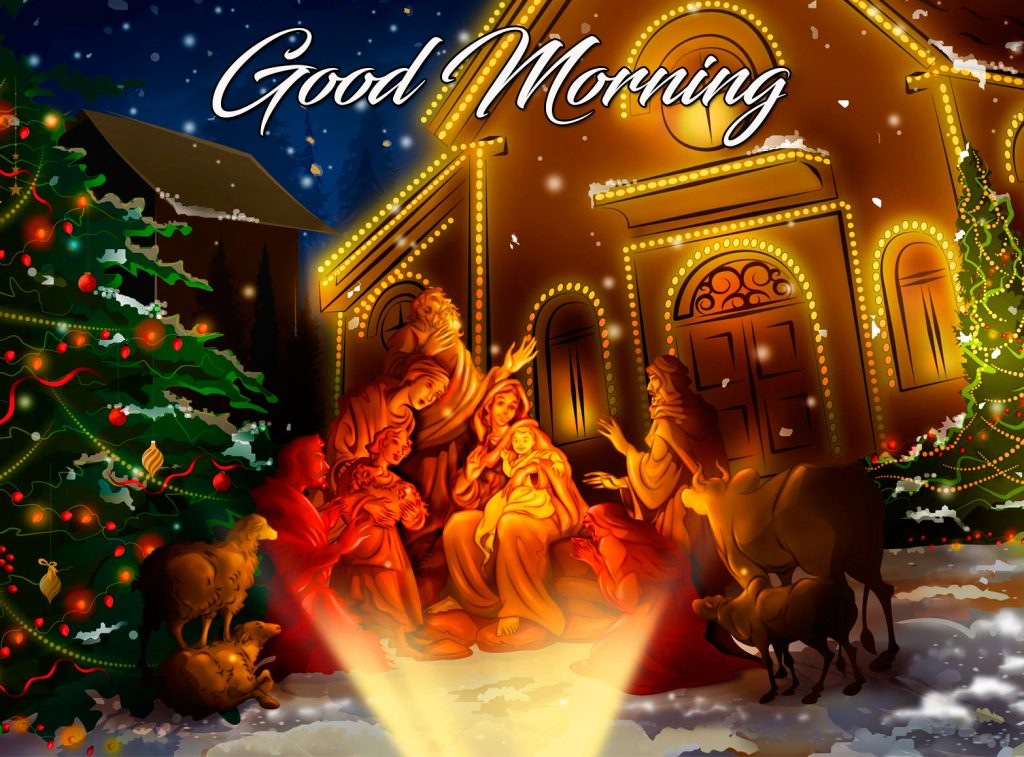 Animated Jesus Christ Good Morning Image