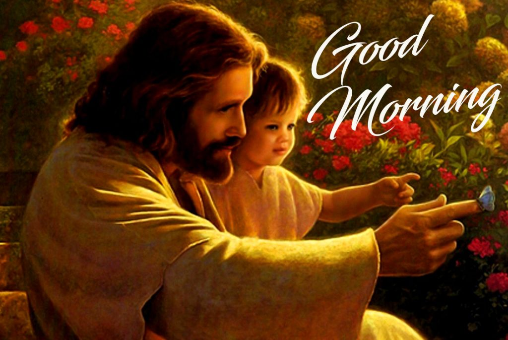 Good Morning Baby Jesus Image