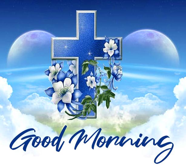 Good Morning Christian Cross Wallpaper