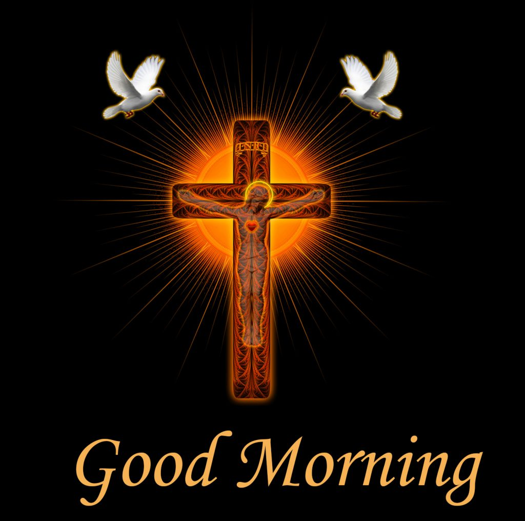 Good Morning Cross Jesus Picture