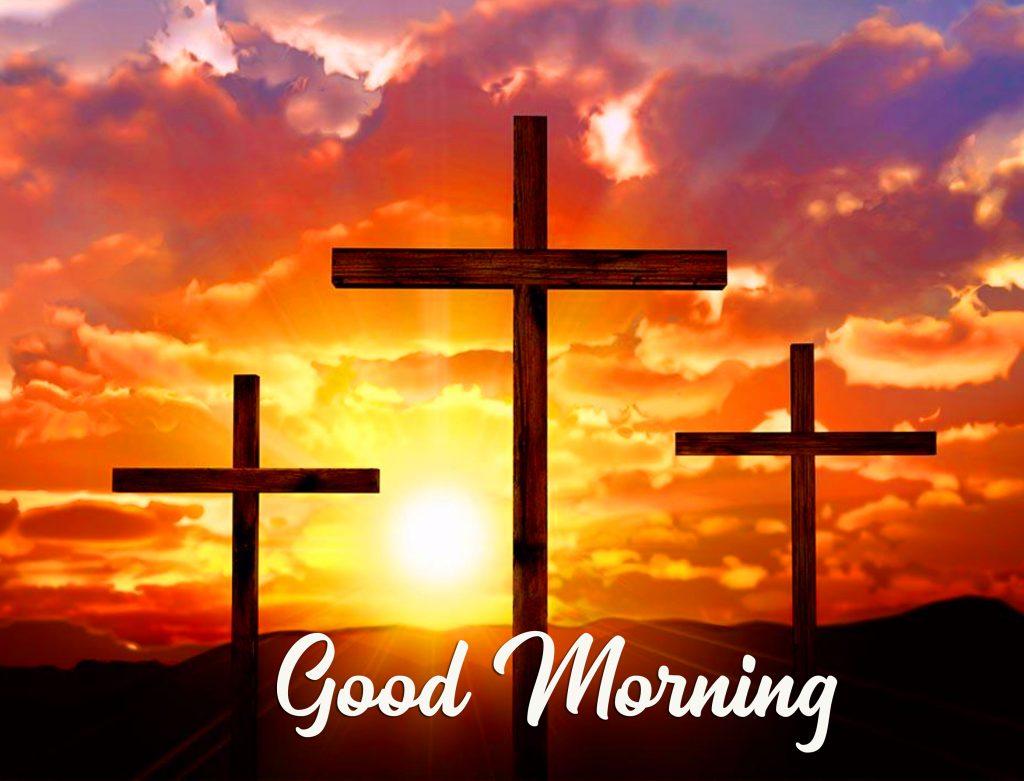 Good Morning Cross Wallpaper