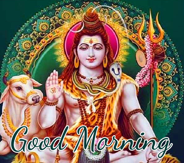 Good Morning God Mahadev Photo