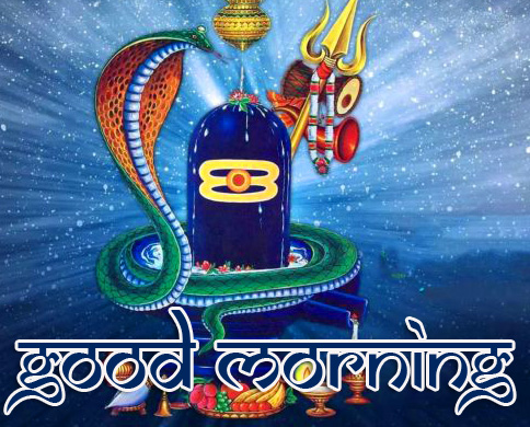 Good Morning HD Mahadev Image