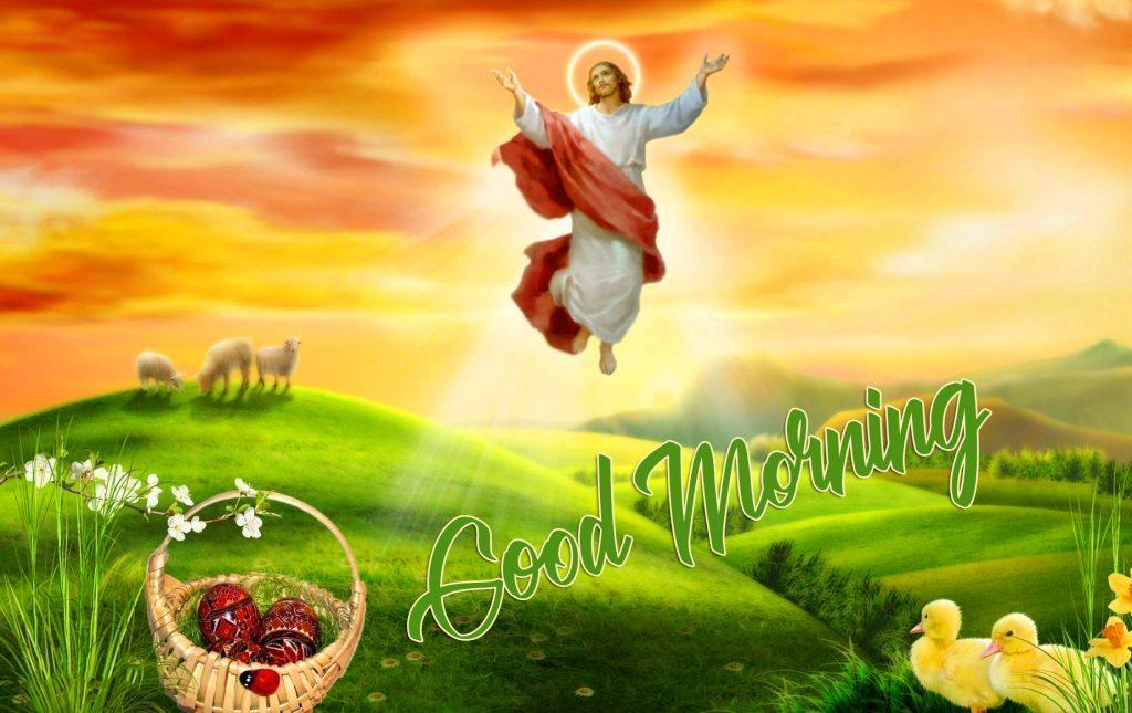Good Morning Jesus Christ Wallpaper HD