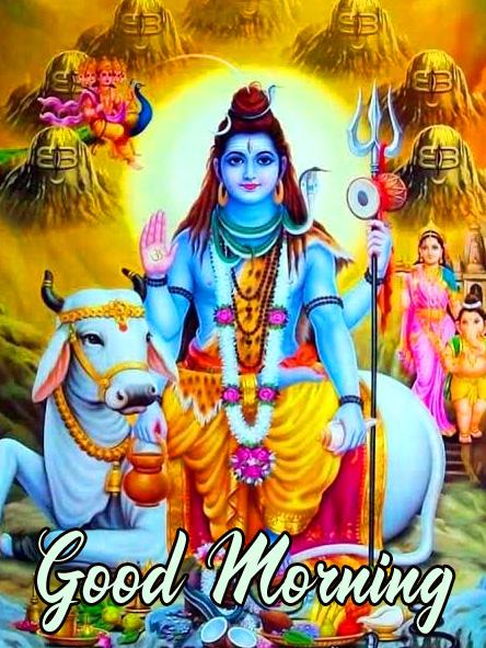 Good Morning Mahadev HD Picture