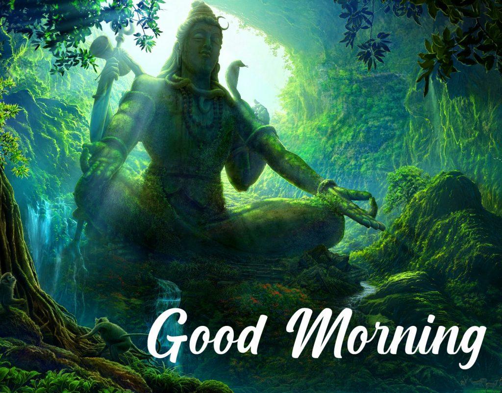 Good Morning Nature Mahadev Wallpaper