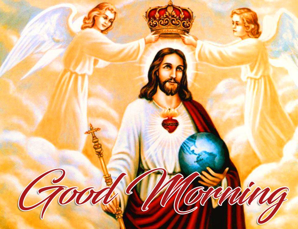 Good Morning Sacred Jesus Christ Wallpaper