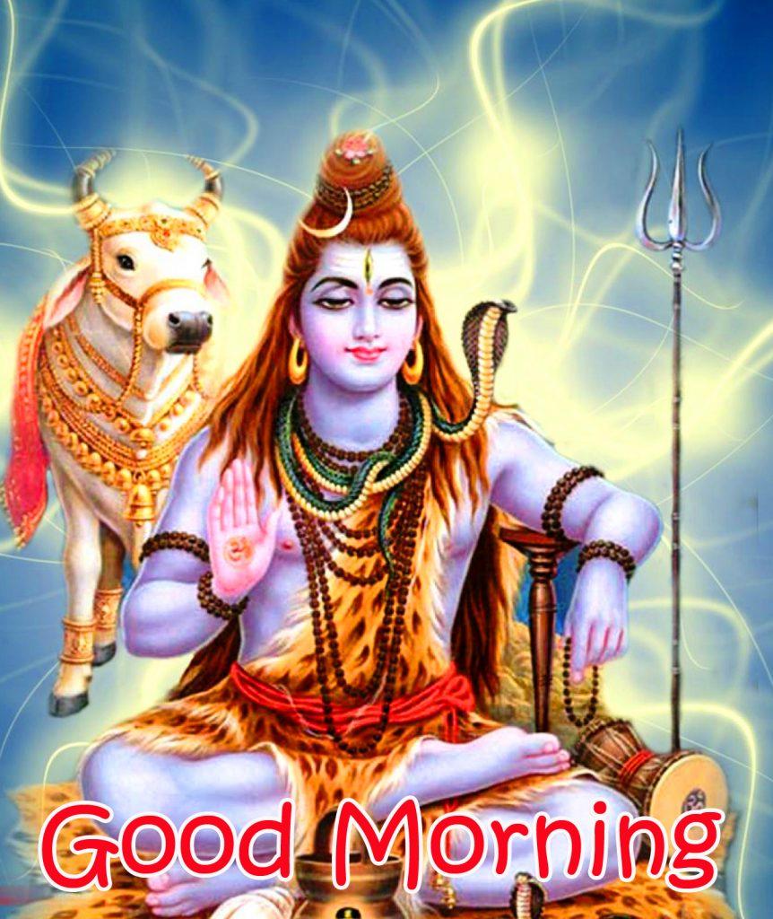 HD Mahadev Good Morning Photo