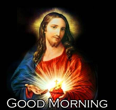Jesus Christ Good Morning Image