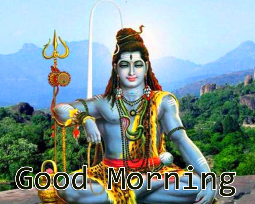 Latest and Best Mahadev Good Morning Picture HD