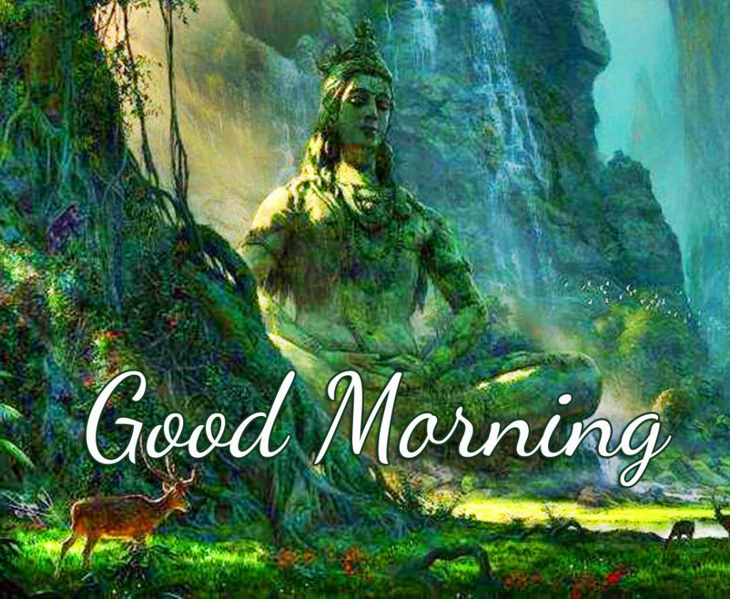 Lord Mahadev Good Morning Image HD