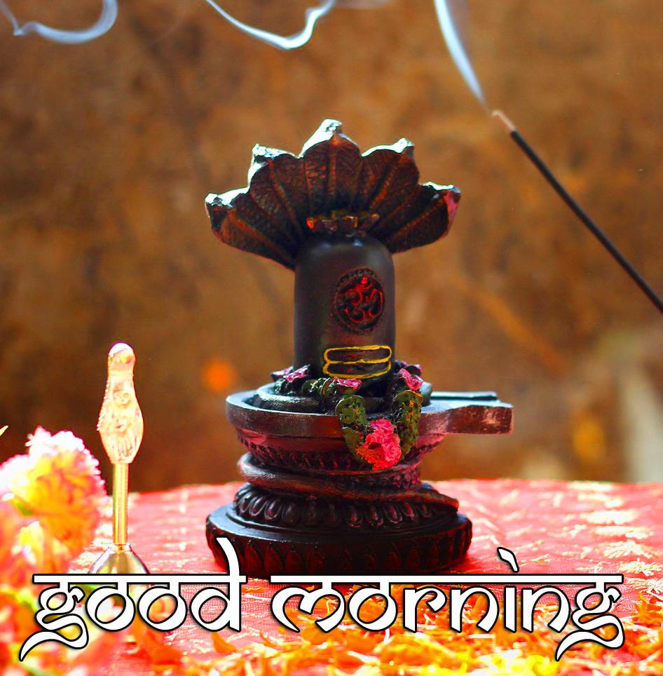 Mahadev Shivlinga Good Morning Image