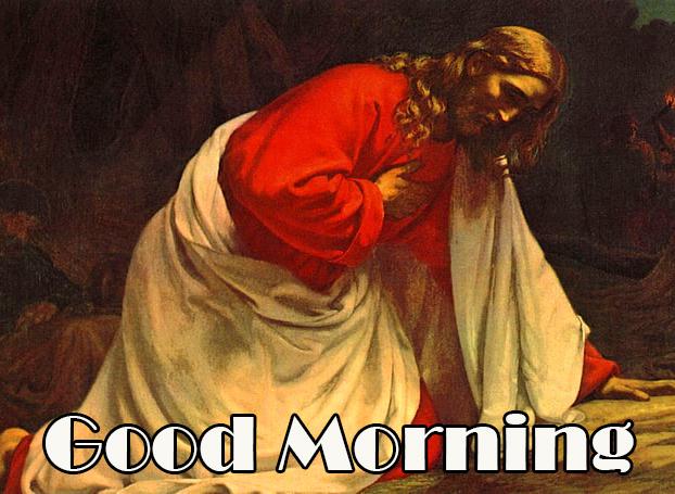 Prayer Jesus Christ Good Morning Image
