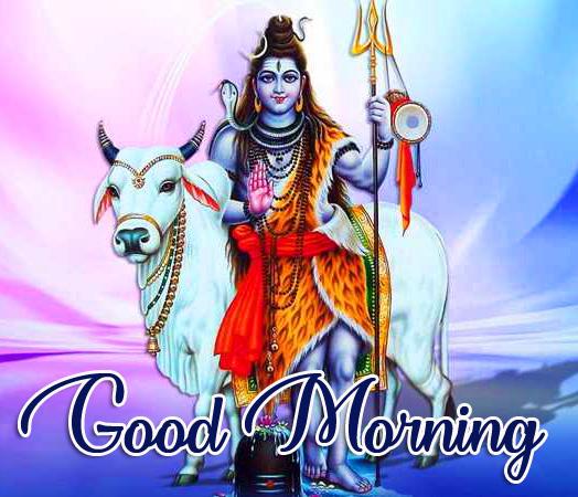 Shri Mahadev Good Morning Image